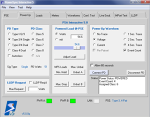PSE Test Interface