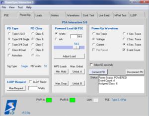 PSE Test Interface